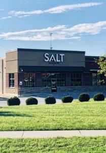 Salt salon and spa building front
